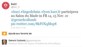 Gérard Collomb   gerardcollomb  a ajouté un de vos Tweets à ses favoris     v.roybet gmail.com   Gmail